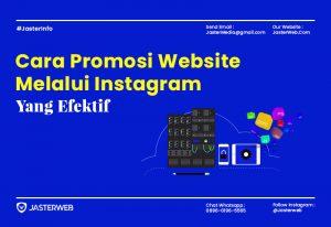 Cara Promosi Website di Instagram yang Efektif