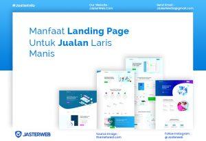 Manfaat Landing Page Untuk Jualan Laris Manis