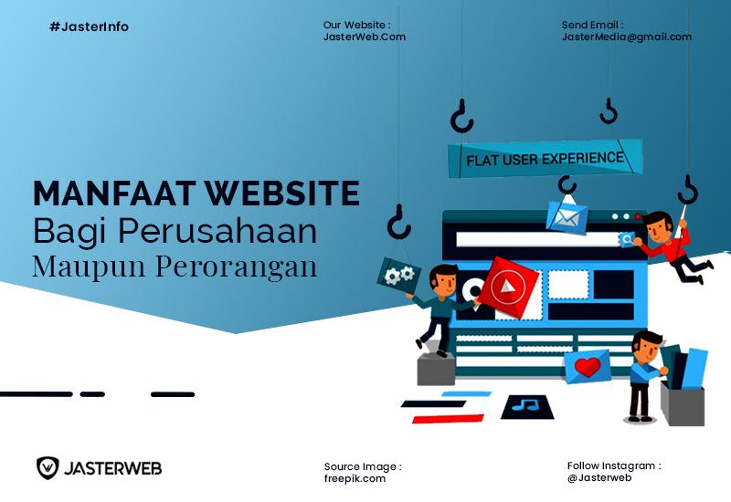 Manfaat Web Bagi Perusahaan dan Perorangan