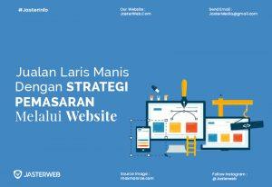 Jualan Laris Manis dengan Strategi Pemasaran Melalui Website