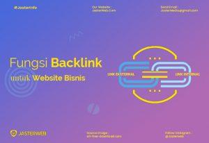 Fungsi Backlink Untuk Website Bisnis