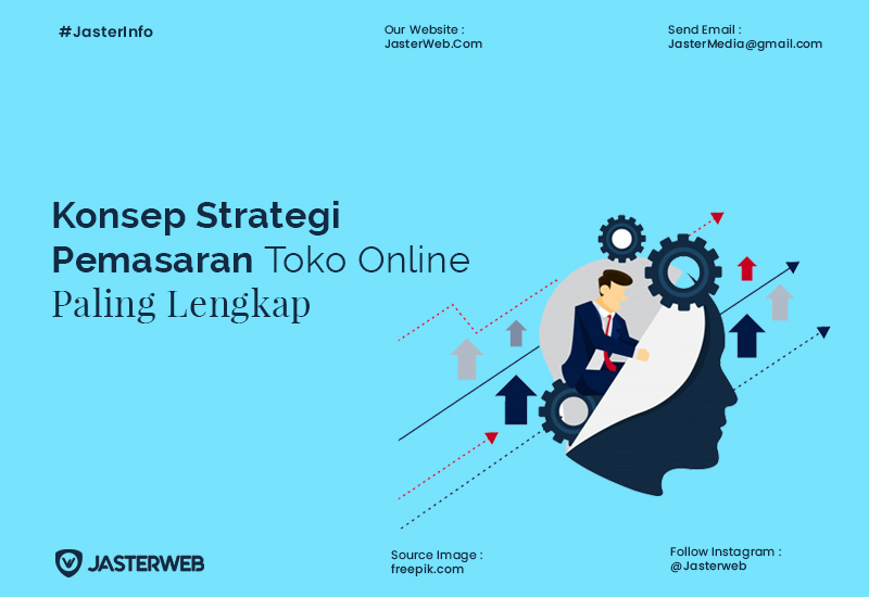 Konsep Strategi Pemasaran Toko Online Paling Lengkap