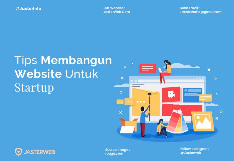 Tips Membangun Website Untuk Startup