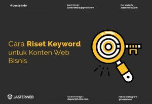Cara Riset Keyword Untuk Konten Web Bisnis