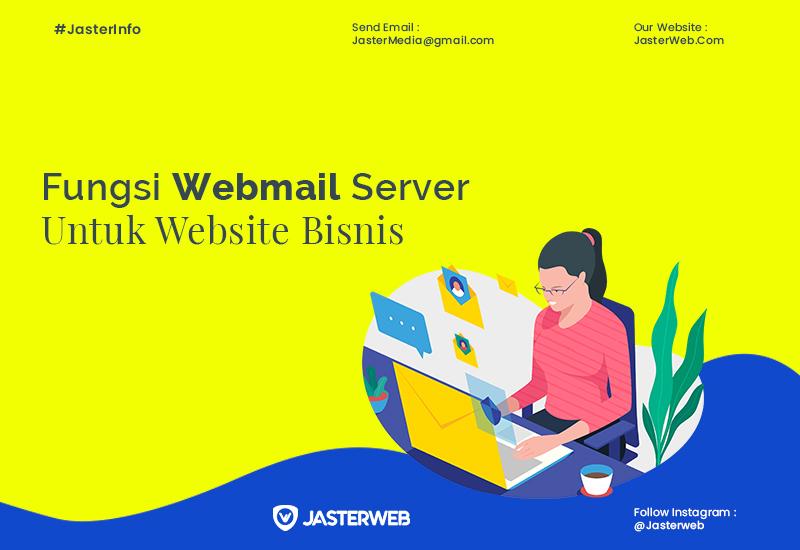 Fungsi Webmail Server untuk Website Bisnis