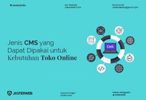 Jenis CMS yang Dapat Dipakai untuk Keperluan Toko Online