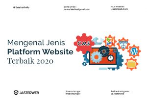 Mengenal Jenis-Jenis Platform Website Terbaik 2020
