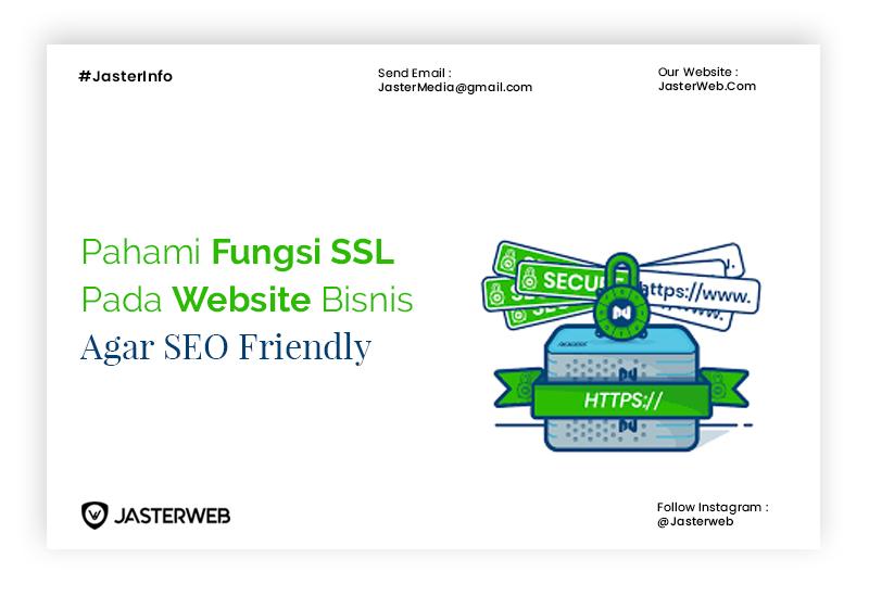 Pahami Fungsi SSL pada Website Bisnis agar SEO Friendly