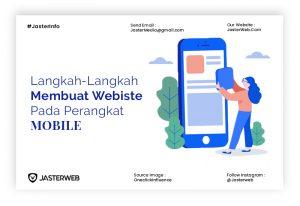 Langkah-Langkah Membuat Website pada Perangkat Mobile