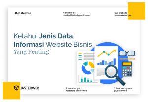 Ketahui Jenis-jenis Data Informasi Website Bisnis yang Penting