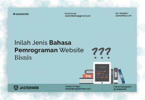 Inilah Jenis-Jenis Bahasa Pemrograman Website Bisnis