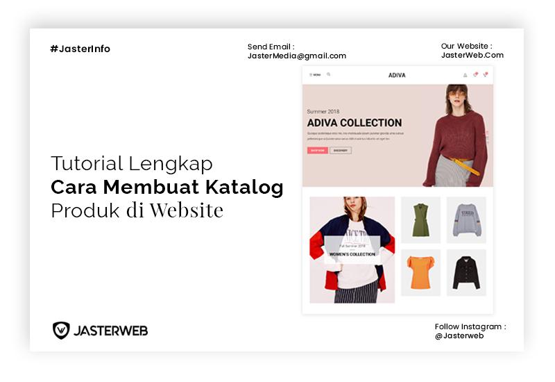 Tutorial Lengkap Cara Membuat Katalog Produk di Website