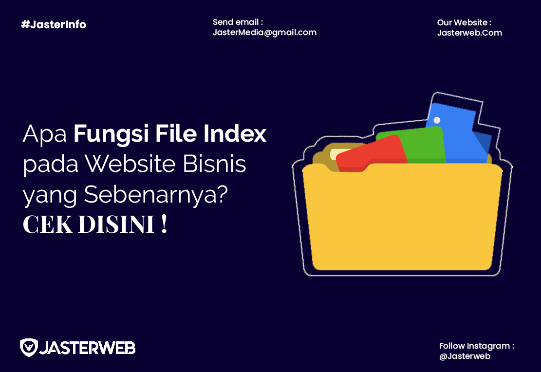 Apa Fungsi File Index pada Website Bisnis yang Sebenarnya? Cek Disini!