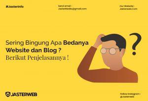 Sering Bingung Apa Bedanya Website dan Blog? Berikut Penjelasannya