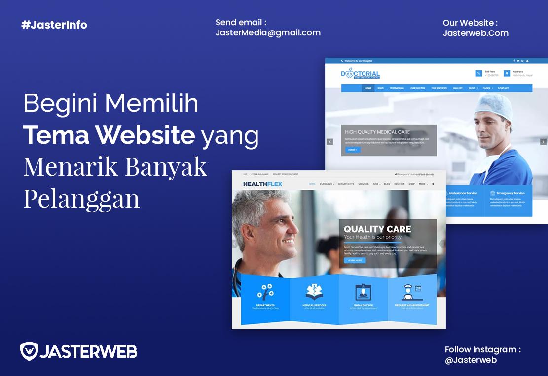 Begini Memilih Tema Website yang Menarik Banyak Pelanggan