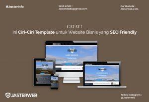 Catat, Ini Ciri-Ciri Template untuk Website Bisnis yang SEO Friendly