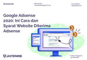 Google Adsense 2020: Ini Cara dan Syarat Website Diterima Adsense