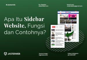 Apa Itu Sidebar Website, Fungsi dan Contohnya?