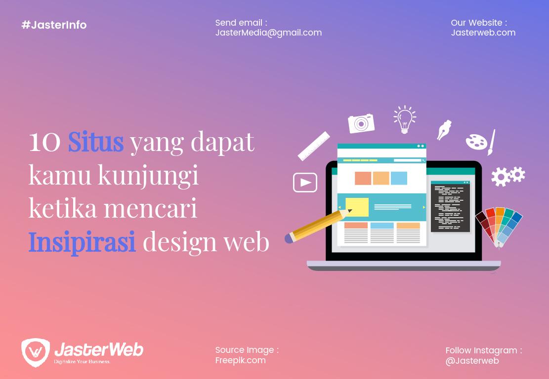 10 Situs yang dapat kamu kunjungi ketika mencari insipirasi design web
