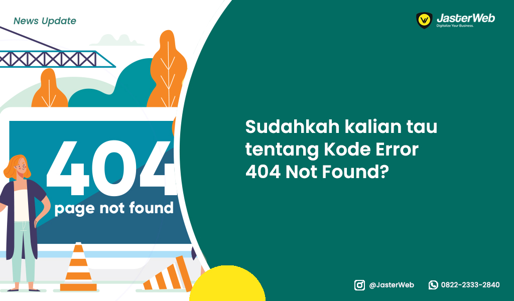 Sudahkah kalian tau tentang Kode Error 404 Not Found?